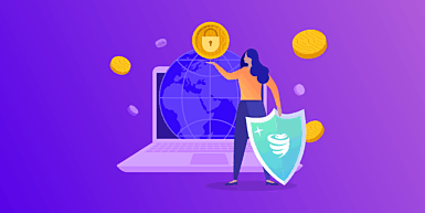 Use a VPN to keep yourself and your crypto secure.